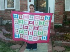 Anna's hour glass quilt