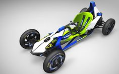 My entry to the 2015 Michelin Challenge Design / G-Force Concept / by Jean-Thomas MAYER / ISD