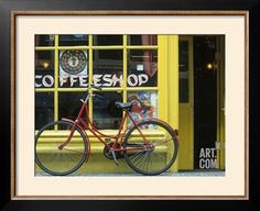 Coffee Shop, Amsterdam, Netherlands Photographic Print by Peter Adams at Art.com