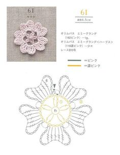 Watch The Video Splendid Crochet a Puff Flower Ideas. Phenomenal Crochet a Puff Flower Ideas. Crochet Puff Flower, Crochet Leaves, Crochet Flower Patterns, Crochet Designs, Crochet Flowers, Appliques Au Crochet, Crochet Motifs, Crochet Diagram, Crochet Chart