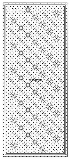 La demande fut d'une écharpe avec beaucoup d'araignées. Pour chaque modèle il faudra trois cartons: - un pour le début et la fin, - deux autres pour le centre: reproduire les motifs sans la bordure du haut 2 fois, afin de les réaliser autant de fois que...
