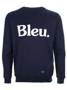 Bleu sweatshirt by Bleu De Paname   Apprl - Social Shopping