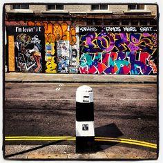 #London #graffiti at its best #streetart https://itunes.apple.com/gb/app/kooky-london/id625209296?mt=8 #kookylondon #iglondon #ig_london #londonist #london_only #londonslovin #instart #picoftheday #photoftheday #photography #colours #sunshine #oldstreet #quirky #iphone #app #kooky #uk #britain #british #Padgram