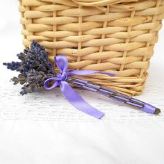 ** Malá svatební levandulová kytička na klopu  ** Little wedding lavande bouquet  ** Petit mariage fleur de lavande  ** Kleine Hochzeit Lavendel Blume  ** Flor de lavanda boda pequeña