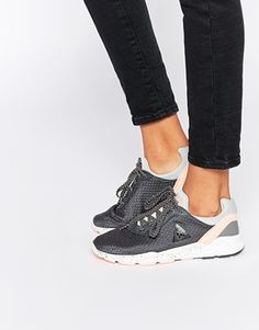 Le Coq Sportif Womens Dynacomf Trainers Black Size 39 (5.5