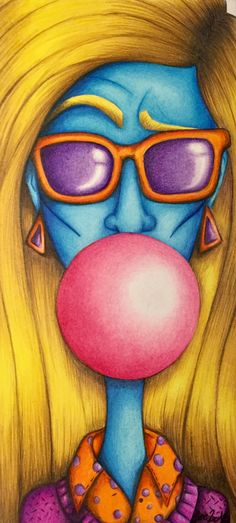what? chicle rosa  #art #portfolio Disney Characters, Fictional Characters, Face, Pink, Chewing Gum, Faces, Disney Face Characters