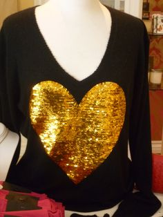 Wildfox sequined sweater at the Doll Boutique in Costa Mesa.  www.adoseofdoll.com- the blog!