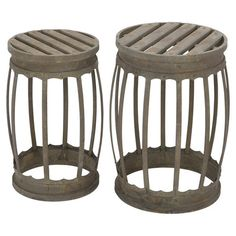Quimper Stool Set - great for your nautical decor.