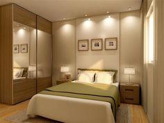 Dicas importantes para dormitórios de casal apertadinhos - Se fosse na minha casa | Se fosse na minha casa