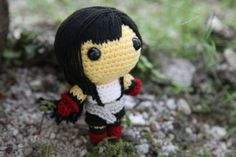 PATTERN Tifa Lockhart Final Fantasy VII  Amigurumi by BaburuStar, $6.00