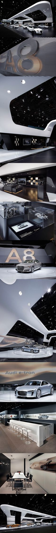 Audi Detroit 2010 by Malte Schweers, via Behance