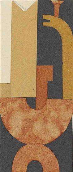 Sophie Taeuber-Arp, Collage (Etude pour L'Aubette)
