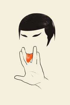 Lick long and prosper.  #Spock #StarTrek ***Research for possible future project.
