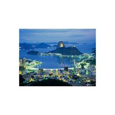 Sugar Loaf Mountain, Rio de Janeiro, Brazil Photographic Wall Art... (82 BRL) ❤ liked on Polyvore featuring home, home decor, wall art, brazil, rio de janeiro, south america, south american nations, subjects, travel and world regions