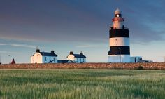 Hook Head Lighthouse in Wexford, Ireland, is one of the oldest working lighthouses in the world.
