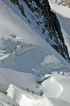 Koop 'Mont Blanc, Chamonix, Aiguille du Midi' van CreaBrig Fotografie voor aan de muur.