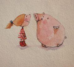Original Illustration Card