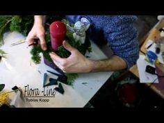 DIY - aus simplem IKEAglas - Gästegeschenk an Weihnachtsfeier - Tischdekoration mit Kerze - YouTube