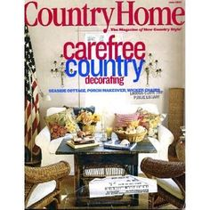 Mary Emmerling Decorating Images | Country Home June 2001 Carefree Country Decorating, Seaside Cottage ...
