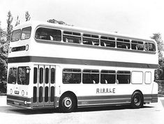 1961 Leyland Atlantean with Weymann body. These coaches had air suspension on the front axle and uprated engines for high speed is seen outside Weymann's factory at Addlestone when new. Preston Lancashire, Routemaster, Bus Coach, Busses, Bus Stop, Transportation, Coaches, Trains, Modern