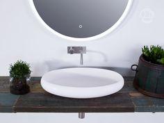 """Ardea oval"" wash basin from Copenhagen Bath."