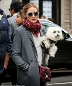 The Olivia Palermo Lookbook : Olivia Palermo in NY.