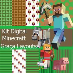 Kit digital Minicreft papéis