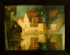 Lyonel Feiniger- The village Poud of Gelmeroda, 1922, Städel Museum, Frankfurt