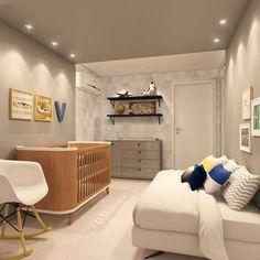 O quarto do bebê por ➡ @anavirginiafurlani Sweet Home, Minimalist Nursery, Baby Planning, Baby Bedroom, Baby Furniture, Kids And Parenting, Baby Kids, Kids Room, New Homes