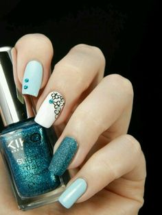 White, Turquoise, black