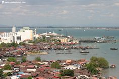 Clan jetties along the George Town waterfront.