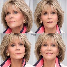 Jane Fonda Hair - hair styles for short hair - Jane Fonda Hair Jane Fonda Hair - Jane Fonda Hairstyles, Bob Hairstyles For Fine Hair, Mom Hairstyles, Hairstyles Over 50, Medium Hair Styles, Curly Hair Styles, Medium Length Hair With Layers, Stylish Hair, Layered Hair