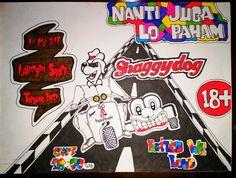 Poster for nantijugalopaham #shaggydog #drawing #poster #nantijugalopaham #jaroot_herbal