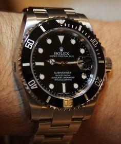 Rolex Submariner 116610 watch review