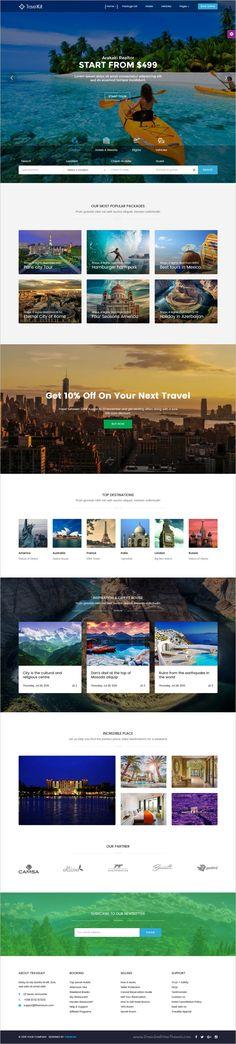 TravelKit is a wonderful responsive #WordPress 5x theme for the #tourism sector, travel #agencies, tour arrangement companies website download now➩ https://themeforest.net/item/travelkit-the-fullfledged-tour-travel-wordpress-theme/18443964?ref=Datasata