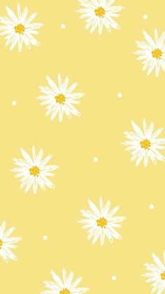 Whats Wallpaper, Wallpaper Pastel, Iphone Wallpaper Yellow, Cute Patterns Wallpaper, Butterfly Wallpaper, Iphone Background Wallpaper, Pattern Wallpaper Iphone, Yellow Flower Wallpaper, Tea Wallpaper