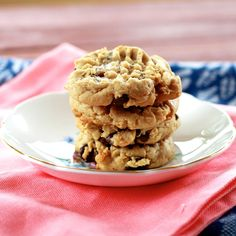 PB chocolate chip cookies from the Sweets Life