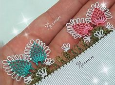 These 50 Different Needle Lace Models Are Very Talking! – Knitting News Knitted Shawls, Knitted Poncho, Filet Crochet, Knit Crochet, Knit Shoes, Needle Lace, Bargello, Knitting Socks, Handicraft