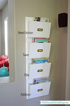 back to school organization ideas, important school papers