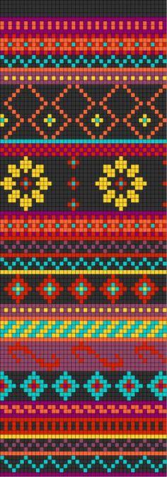 Voici une grille jacquard qui recycle différents motifs déjà utilisés ou vus sur des chandails de légende, ou encore simplement créés pour...