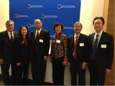 What a lovely group of people! Judi taking picture with our AE2C leaders during the Lunar New Year with Asian Americans in Energy, the Environment and Commerce (AE2C) event! 1/20/13