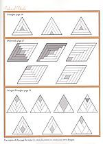 Instruction Page  diamond log cabin need pattern