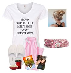 """Day 4~ StAyInG hOmE"" by raquate1232 ❤ liked on Polyvore featuring Lands' End, GANT, Vera Bradley and hhsummercontest"