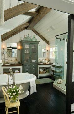 51 rustic barn bathrooms