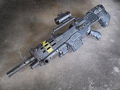 Custom modded Nerf Halo Rifle — by meandmunch