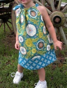Pillowcase dress pattern @Madeline Dalton