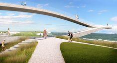 MVRDV design public art project SeaSaw #concept #landscapearchitecture #architecture #MVDRV #public #art