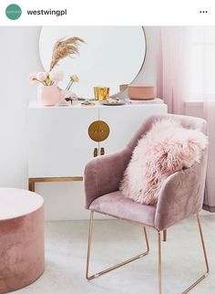 Baby Girl Room Pink Bedrooms Ideas For 2019 Room Decor Bedroom Rose Gold, Rose Gold Rooms, Room Ideas Bedroom, Rose Gold And Grey Bedroom, Rose Gold Bed, Rose Gold Interior, Grey And Gold Bedroom, Rose Gold Decor, White Bedroom