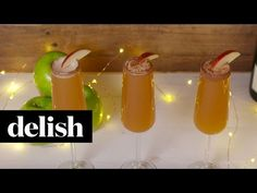 Apple Cider Mimosas Video - How to Make Apple Cider Mimosas