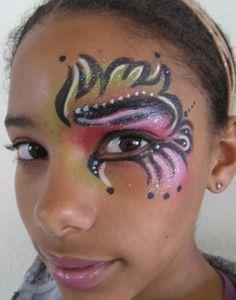 mardi gras makeup | Who Dat? Luv You Sum Mardi Gras Eyes
